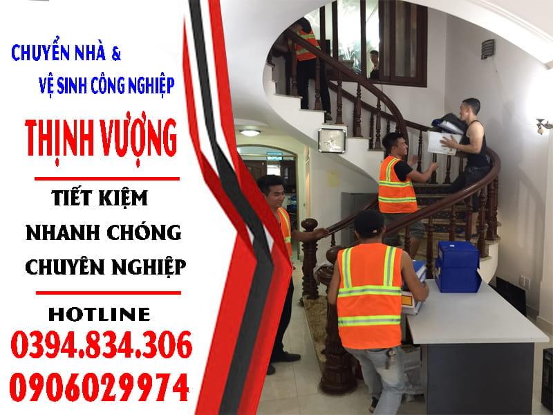 Chuyển nhà và vệ sinh công nghiệp Thịnh vượng Hải Phòng